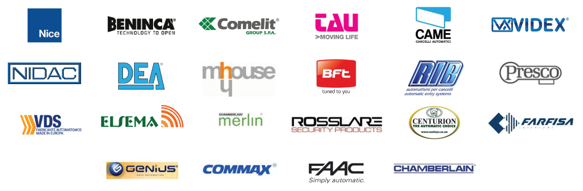 The Brands we Carry & Service